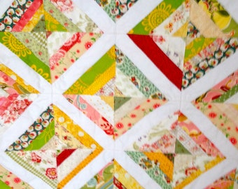 Lap Quilt --Free Shipping