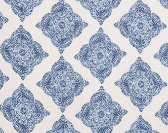 John Robshaw Mani Indigo 21038-193 Fabric by the yard