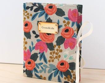 rifle floral personalized photo album brag book custom rustic gift