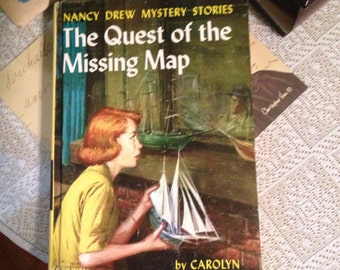 Vintage Nancy Drew Quest of the Missing Map
