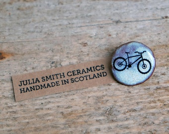 Mountain Bike Brooch