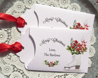 Holiday Favors | Christmas Party Favors | Christmas Gift Card | Gift Card Holder | Christmas Party | Holiday Party | Christmas