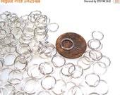 55% Off Split Rings 8mm Split rings Silver Plated Steel Pk 500 Wholesale SR0001