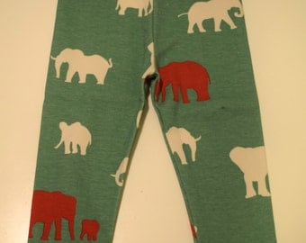 Elephant Leggings 6-12 Months **Ready to Ship