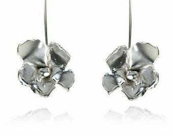 Bloom drop Sterling Silver earrings