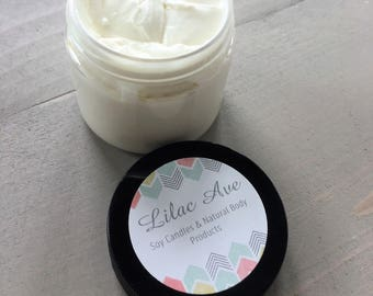 Body Butter, All Natural, Lavender Vanilla Scented