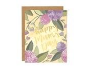 Happy Mum's Day Illustrated Card//1canoe2