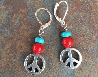 Peace on Earth - Earrings