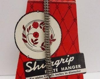 Vintage Shurgrip Plate Hanger NOS