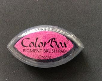 Orchid Color Box Pigment Brush Pad