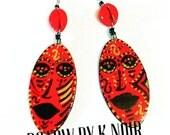 Fiyah Beauty Mask Earrings
