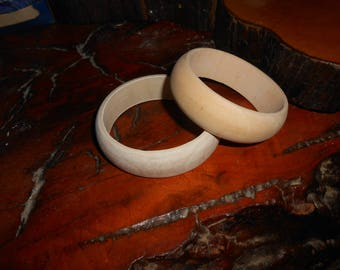 Wood Bangle Bracelet a you finish craft project