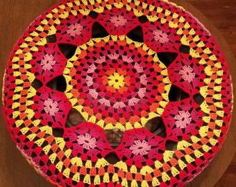 Paradise Island Crochet Spare Tire Cover