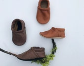 BASIC//LOAFERS Tribe and Lodge Soft Soled Leather Shoes Baby and Toddler