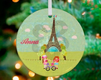 A piece of Paris giclee ornament