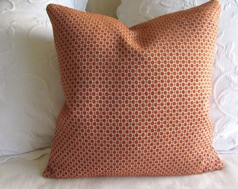 Chenille decorative Pillow Cover 18x18 20x20 22x22 24x24 26x26 pumpkin