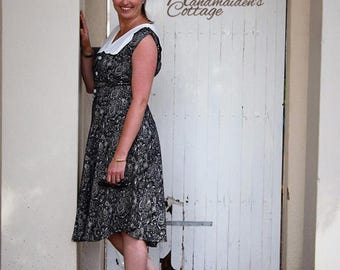 "NEW The Handmaiden's Cottage ""Charlotte"" Dress PDF Pattern for Women, Sizes 2 through size 16"