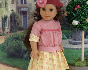 Riverfront Park - Edwardian dress and bloomers for American Girl doll