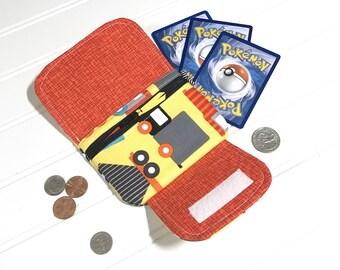 Boys wallet | Kids wallet | trucks | Zipper pouch | children's wallet | Mini wallet | Wallet |  money organizer | card wallet | Easter gift