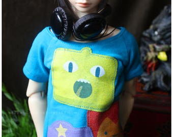 ABJD Dollfie CP Delf SD Adventure Time Face Swap casual tee