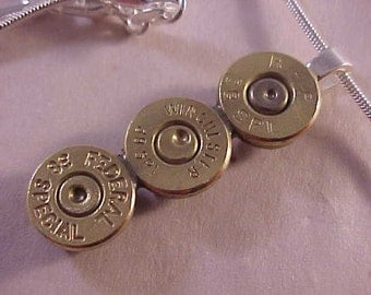 38 Special Bullet Pendant Necklace