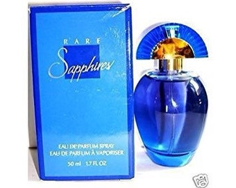 SALE rare SAPPHIRES 1.7 fl.oz. spray perfume in box NOS/New old stock/ never used valentines gift