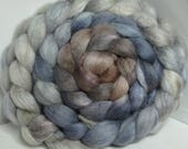 Reserve Karin BFL/Cashmere/Bombyx 50/25/25 Roving Combed Top - 5oz -Weeping Angel 2