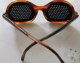 Vintage Sunglasses - Lido by Imperial - perforated lenses - made in Italy