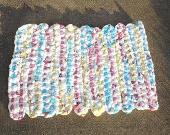 Spring Colored Plastic Bag Mat
