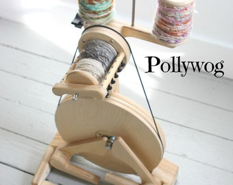 POLLYWOG SPINOLUTION - Spinning Wheel - Open Orifice for Art Yarns - Free Shipping USA