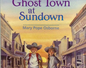Magic Tree House Number 10 Ghost Town At Sundownb , Children's Books
