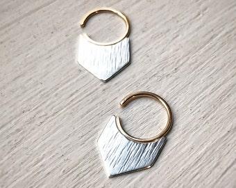 Chevron Blade Earrings
