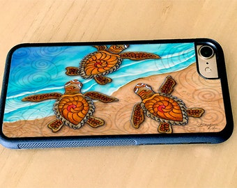 3 Baby Turtles iPhone case, cover,iPhone 5/5s, iPhone 6/6s, iPhone 6 Plus, iPhone 7, iPhone 7 Plus