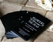 37 CARD PACK Flowers FROM The Dead, A Divination Deck