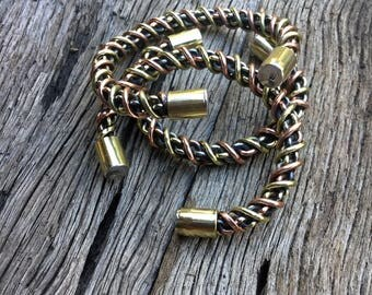 Celtic torc Torque Bracelet Silver Copper Brass Iron  jewelry