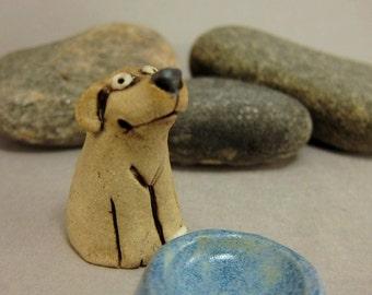 Coco...Miniature Dog in Stoneware