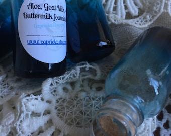Goat Milk foundation olive | Buttermilk + Aloe | powder foundation | full coverage | large 30g jar Mineral Makeup blend with moisturizer