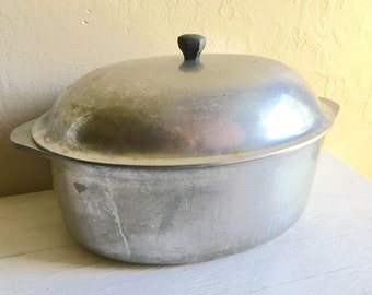 Household Institute Aluminum Ware Dutch Oven Cookware Pot with Lid
