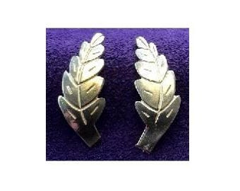 27x11mm ~ Sterling Silver Cast Leaves for Soldering projects ~ To Be ORDERED for you ~ L10 ~ FDK