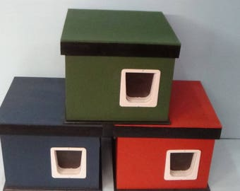 Feral Cat House/2 Door/heated (Ships Next Bus. Day), outdoor, bed, shelter,condo,sanctuary