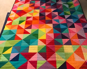 Rainbow triangles Made To Order