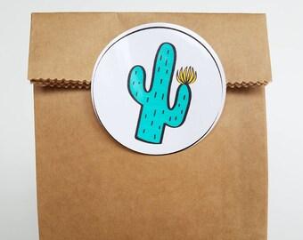 "Cactus Downloadable 2"" Circles"
