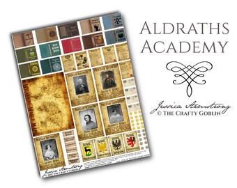 Aldraths Academy DIGITAL FILE (Harry Potter, Hogwarts, Acceptance Letter)