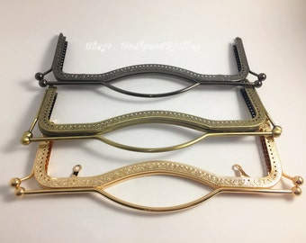 """10 5/8"""" x 3 7/8"""" Purse Frame ,Choose From 3 Colors, PF007"""