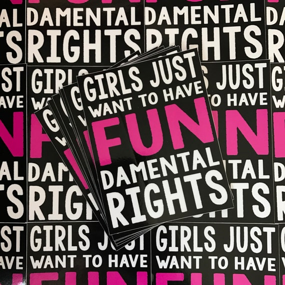 Weatherproof Vinyl Sticker - Fundamental Rights - Unique, Fun Sticker for Car, Luggage, Laptop - Artstudio54