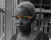 African print sunglasses
