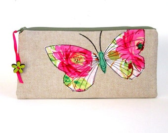 pencil pouch cosmetic bag makeup pouch