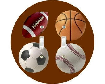 Sport Ball Double Toggle Switch Plate Cover A