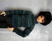 SD BJD boy sweater Night Forest
