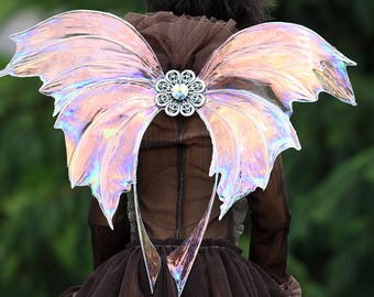 Clear Magnetic Butterfly Wings